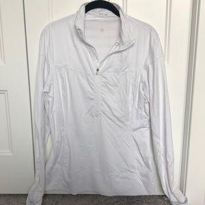 Lululemon Half Zip long sleeve running top